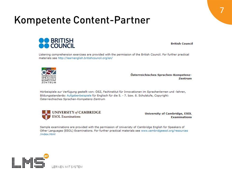 Kompetente Content-Partner