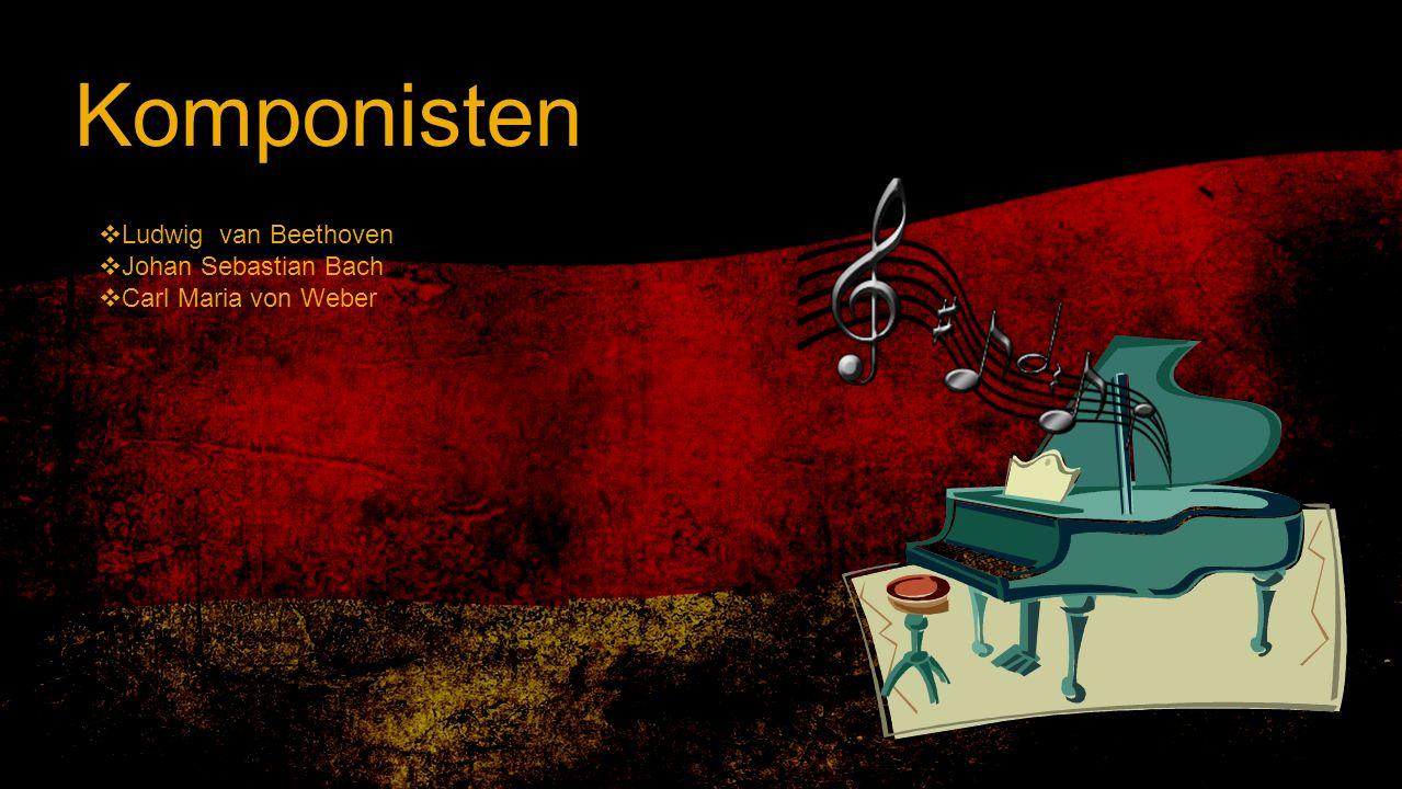 Komponisten Ludwig van Beethoven Johan Sebastian Bach