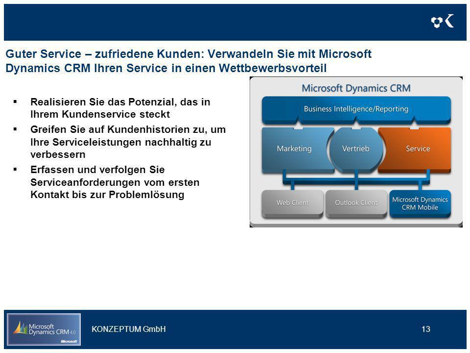 Guter Service – zufriedene Kunden: Verwandeln Sie mit Microsoft Dynamics CRM Ihren Service in einen Wettbewerbsvorteil