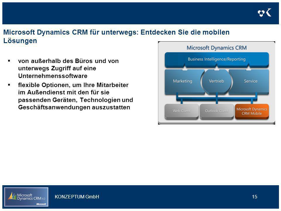 Microsoft Dynamics CRM für unterwegs: Entdecken Sie die mobilen Lösungen