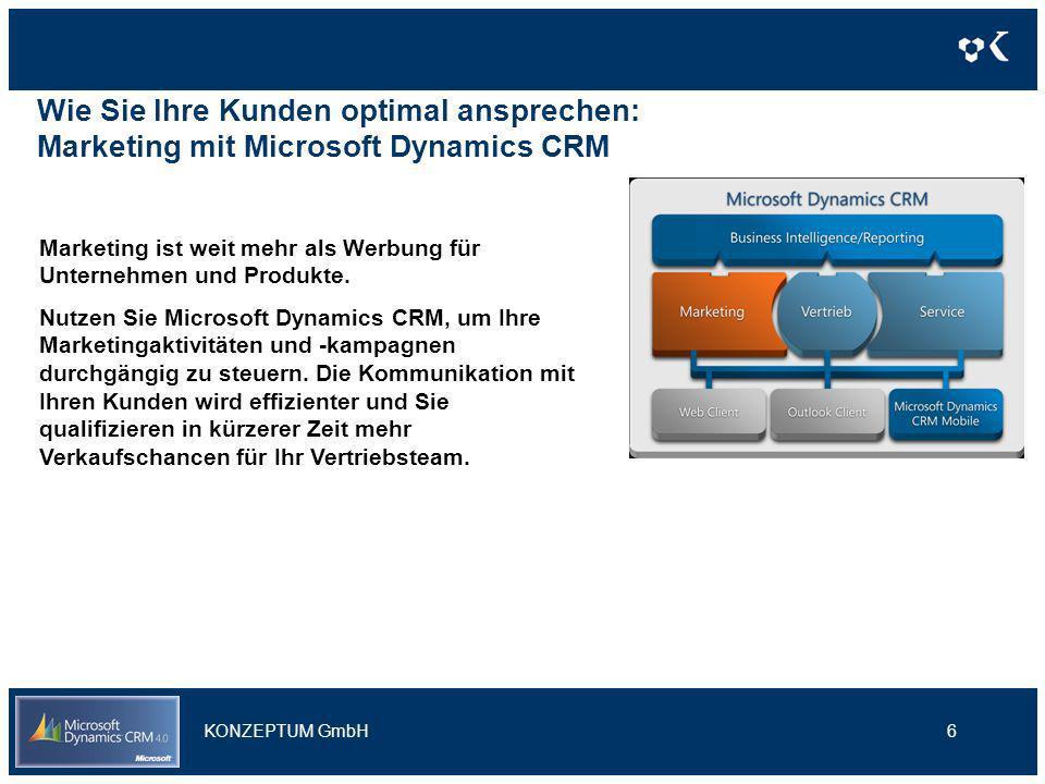 Wie Sie Ihre Kunden optimal ansprechen: Marketing mit Microsoft Dynamics CRM