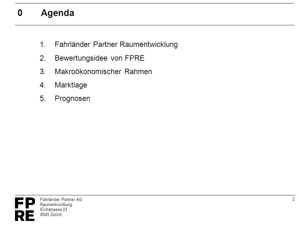 0 Agenda Fahrländer Partner Raumentwicklung Bewertungsidee von FPRE