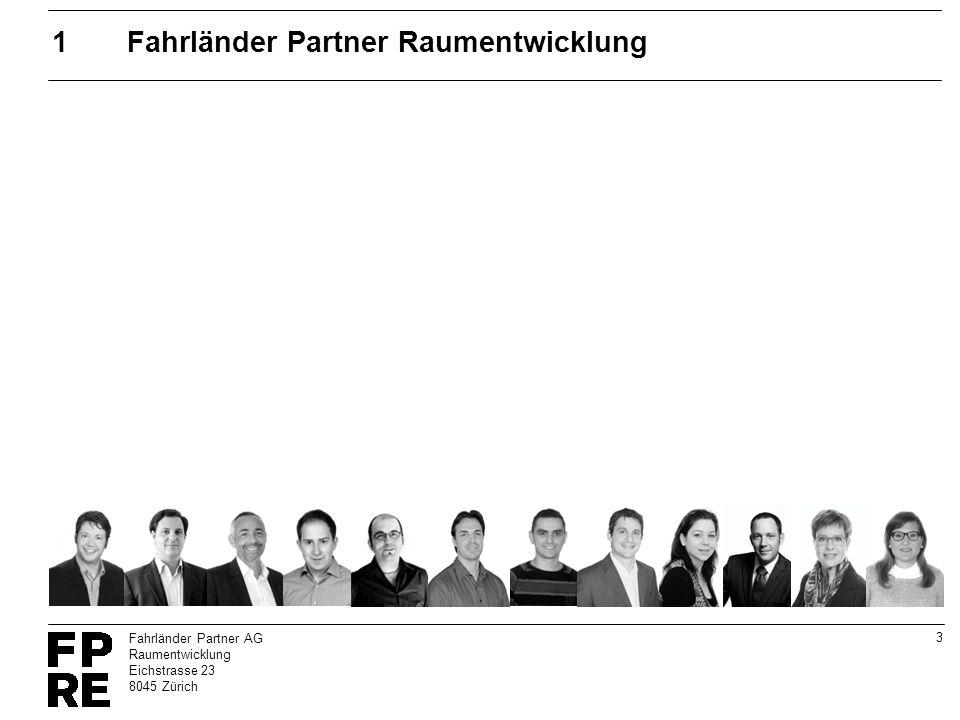 1 Fahrländer Partner Raumentwicklung
