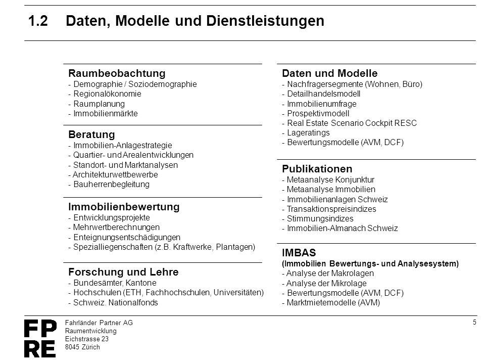 1.2 Daten, Modelle und Dienstleistungen