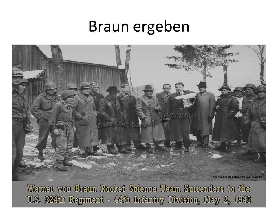 Braun ergeben