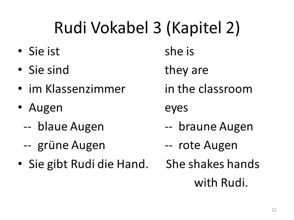 Rudi Vokabel 3 (Kapitel 2)