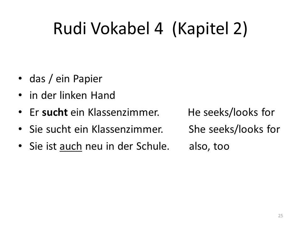 Rudi Vokabel 4 (Kapitel 2)