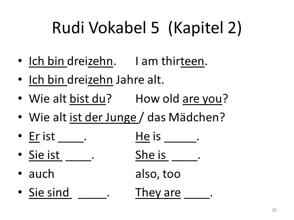 Rudi Vokabel 5 (Kapitel 2)