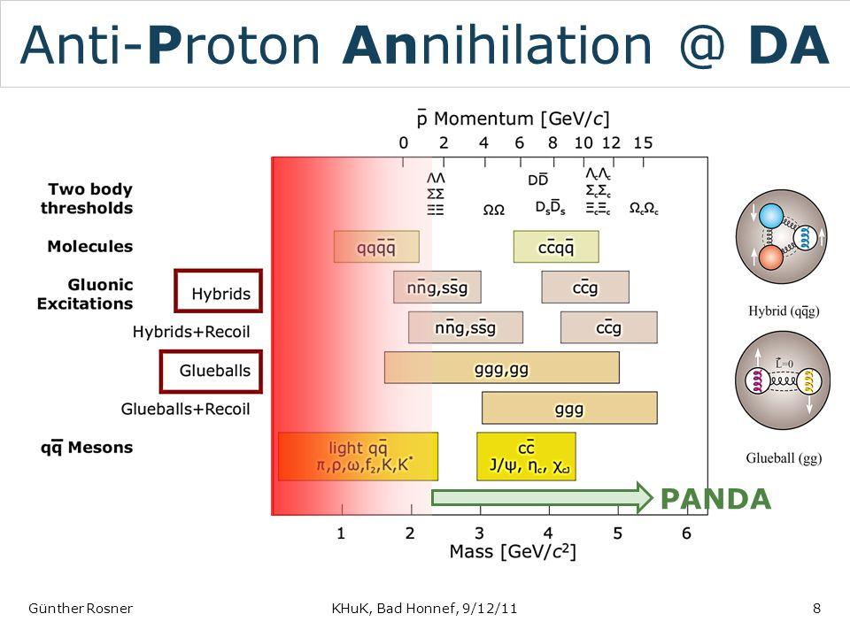 Anti-Proton Annihilation @ DA