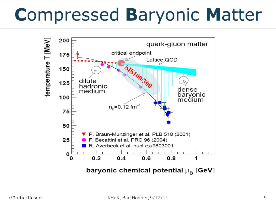 Compressed Baryonic Matter