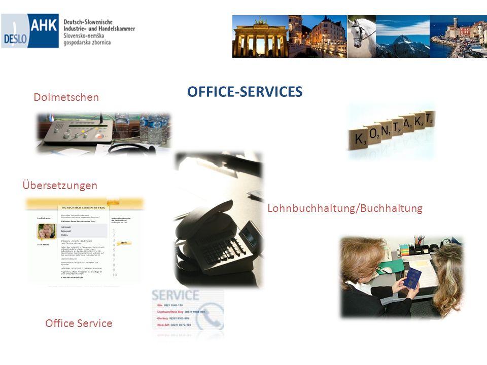 OFFICE-SERVICES Dolmetschen Übersetzungen Lohnbuchhaltung/Buchhaltung