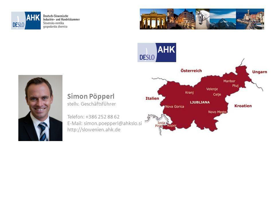 Simon Pöpperl stellv. Geschäftsführer