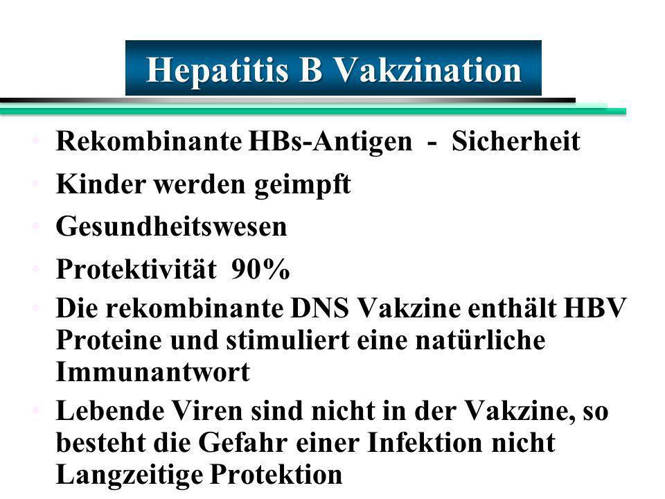 Hepatitis B Vakzination