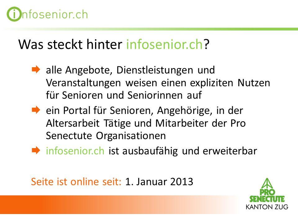 Was steckt hinter infosenior.ch