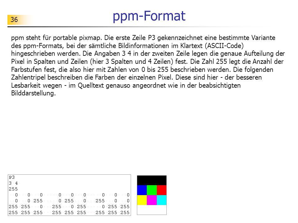 ppm-Format