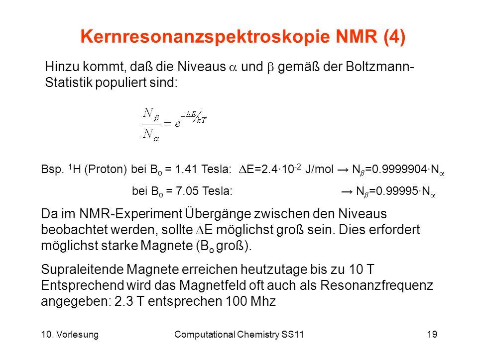 Kernresonanzspektroskopie NMR (4)