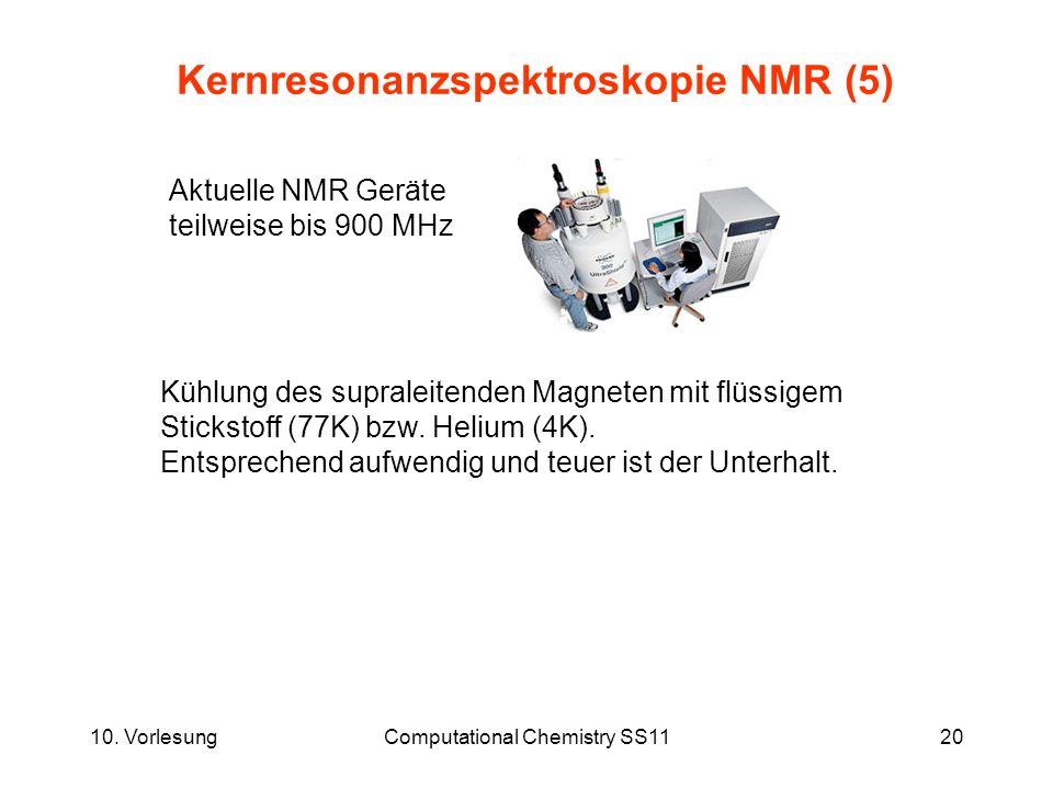 Kernresonanzspektroskopie NMR (5)