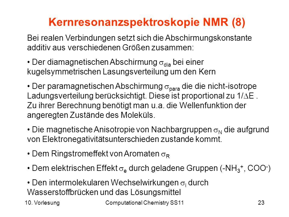 Kernresonanzspektroskopie NMR (8)