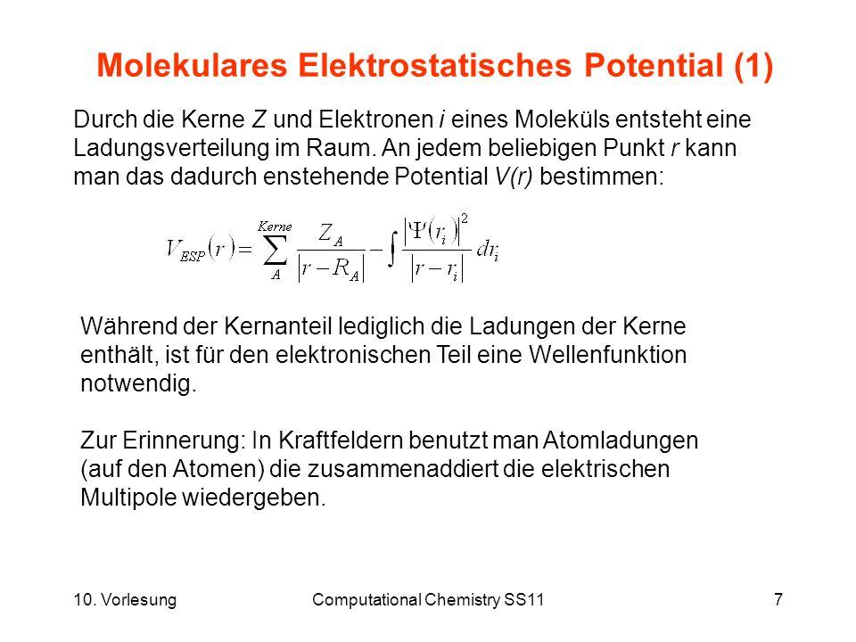 Molekulares Elektrostatisches Potential (1)