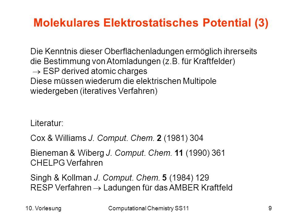 Molekulares Elektrostatisches Potential (3)
