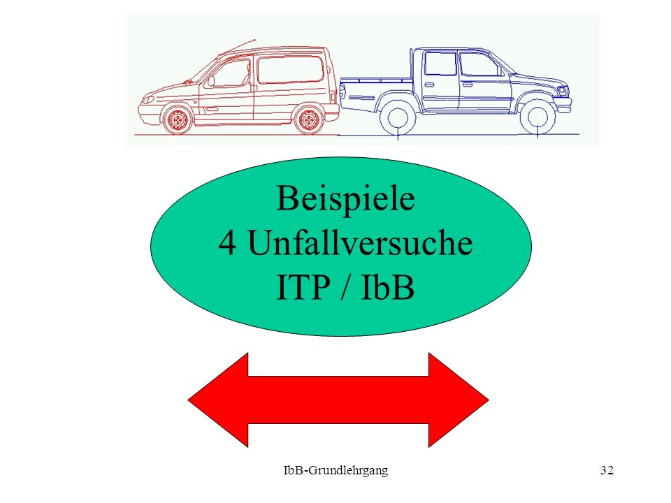 Beispiele 4 Unfallversuche ITP / IbB