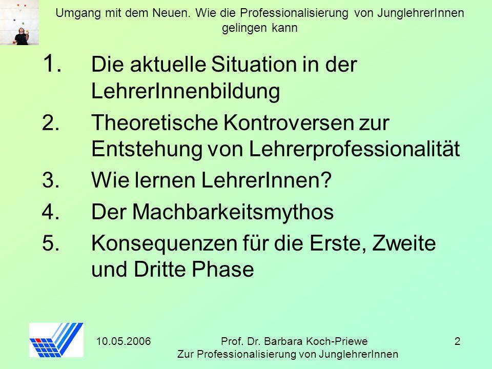 Prof. Dr. Barbara Koch-Priewe