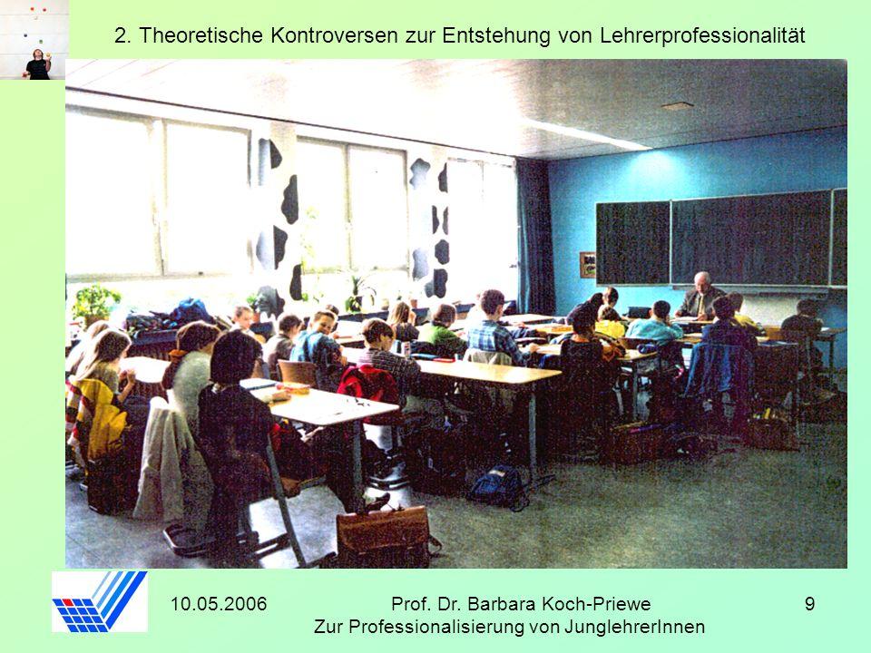 2. Theoretische Kontroversen zur Entstehung von Lehrerprofessionalität