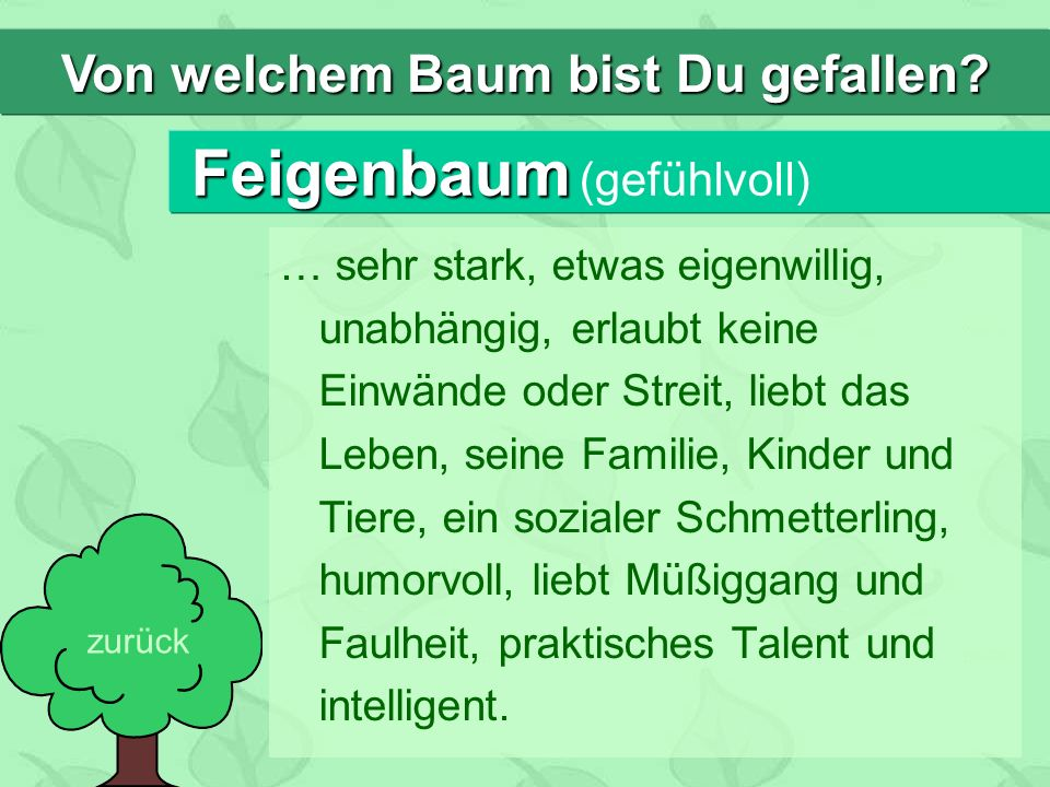 Feigenbaum (gefühlvoll)