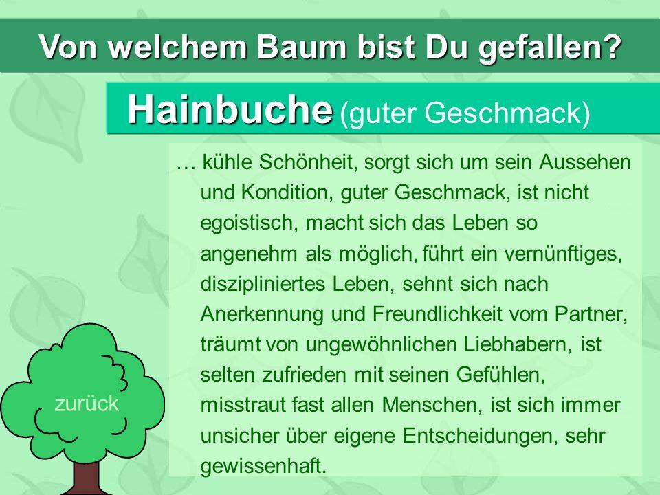 Hainbuche (guter Geschmack)