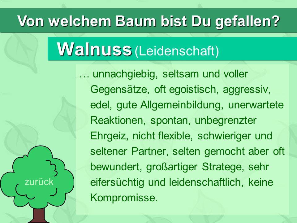 Walnuss (Leidenschaft)