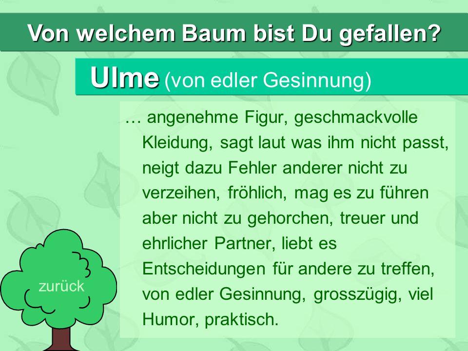 Ulme (von edler Gesinnung)