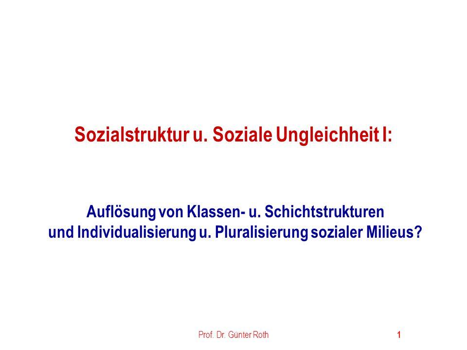 Sozialstruktur u. Soziale Ungleichheit I: - ppt video online ...