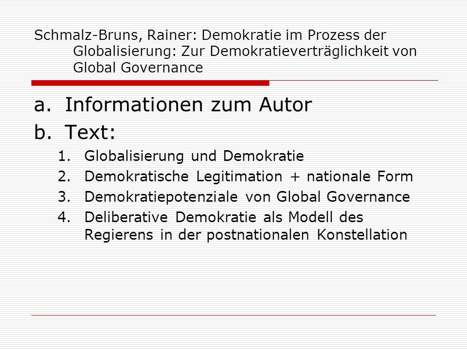 Informationen zum Autor Text: