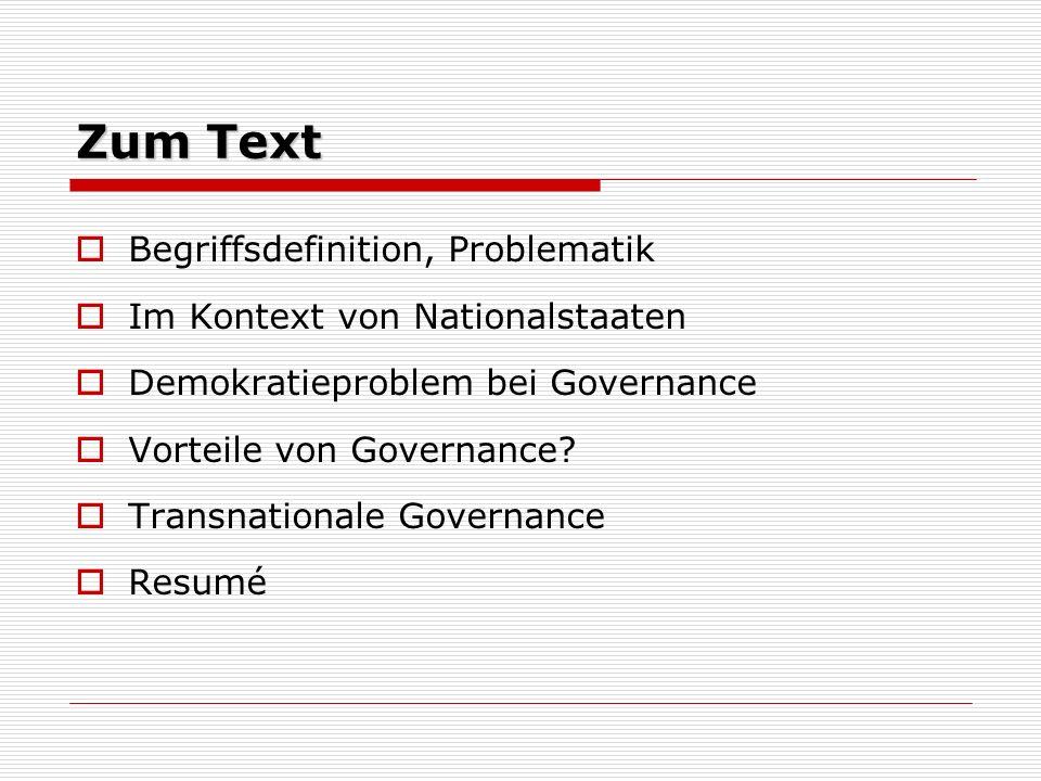 Zum Text Begriffsdefinition, Problematik