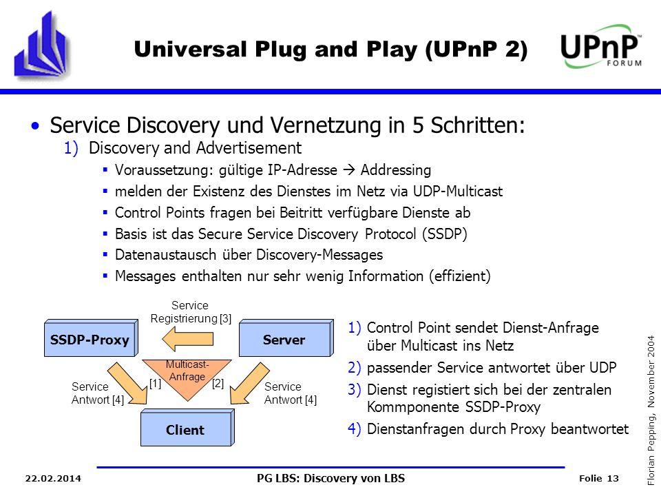 Universal Plug and Play (UPnP 2)