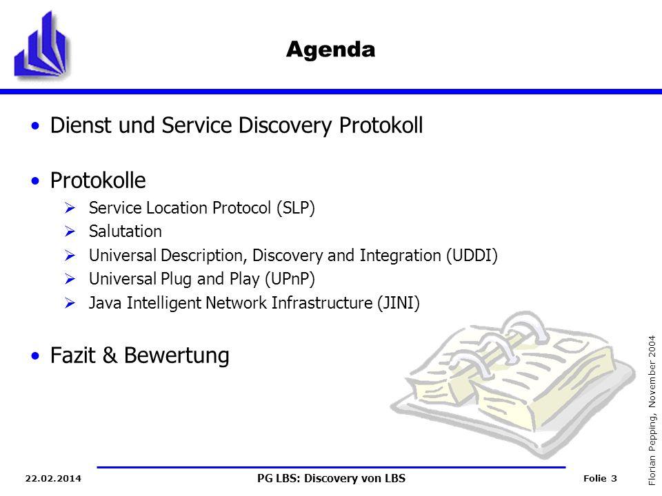 Dienst und Service Discovery Protokoll Protokolle