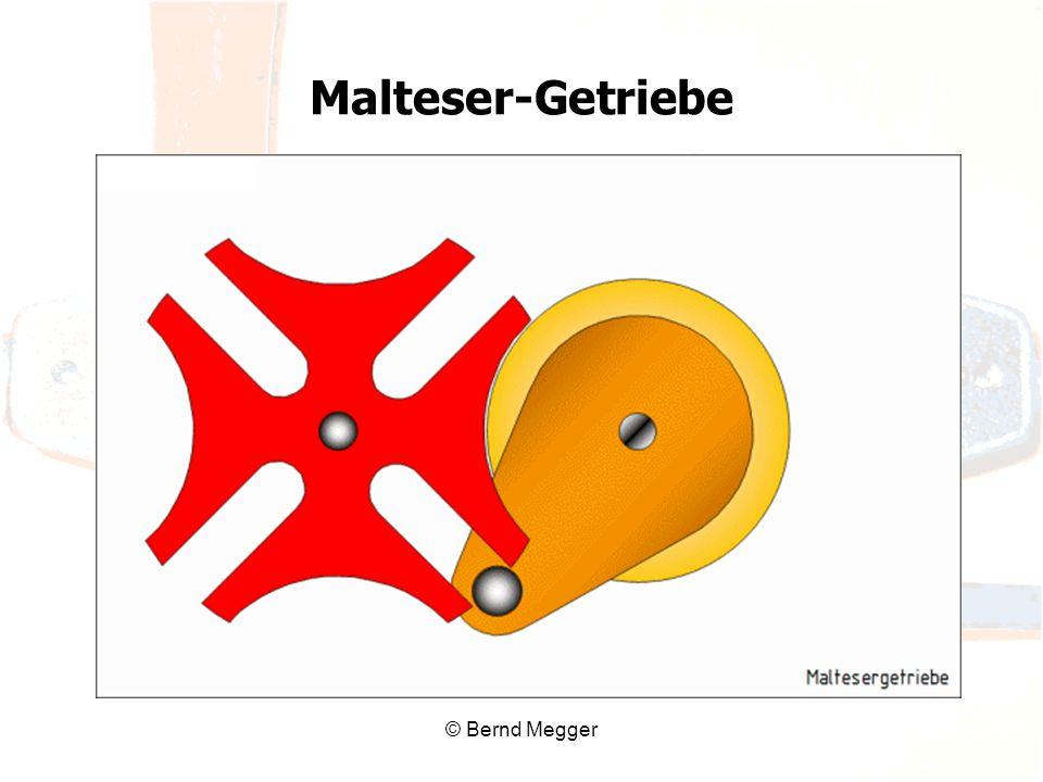 Malteser-Getriebe © Bernd Megger