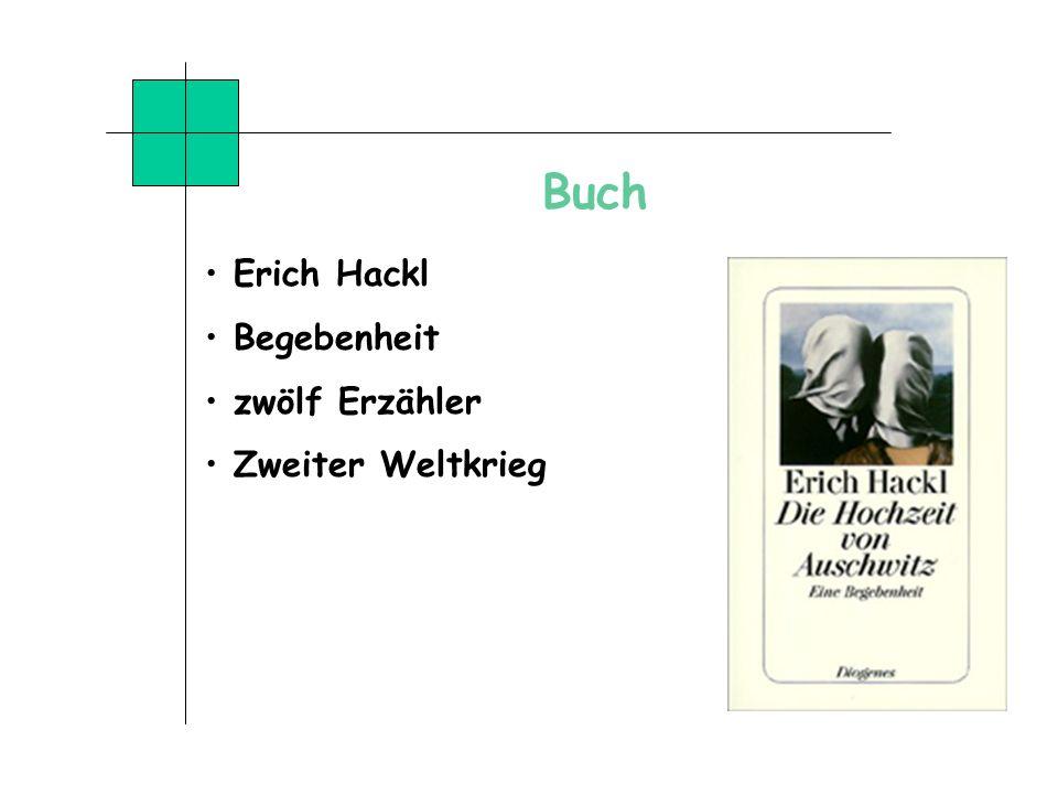Buch Erich Hackl Begebenheit zwölf Erzähler Zweiter Weltkrieg