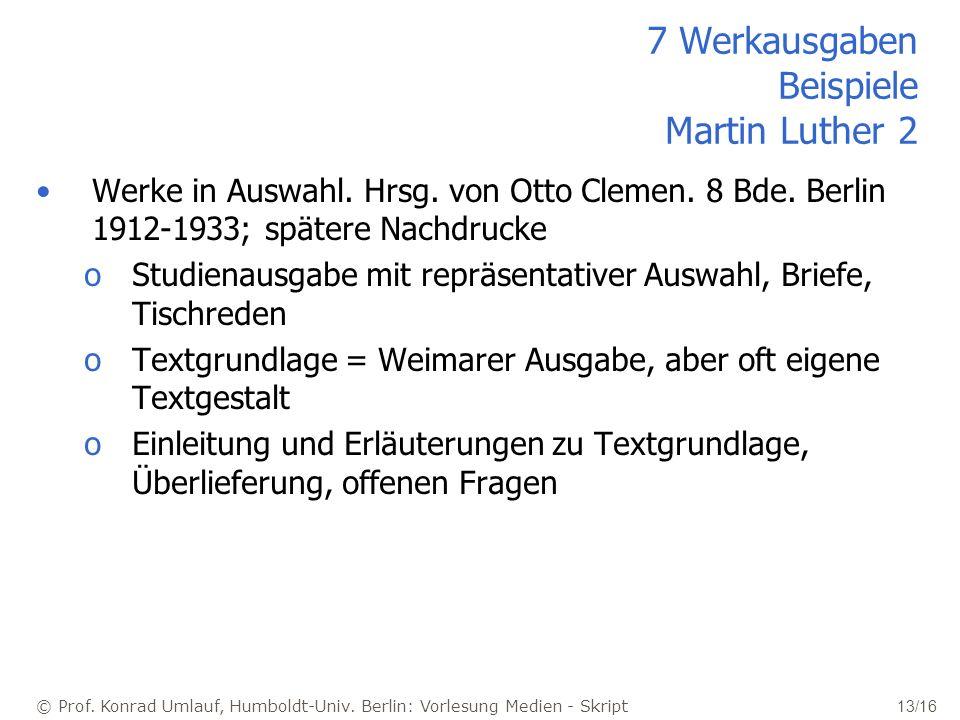 7 Werkausgaben Beispiele Martin Luther 2
