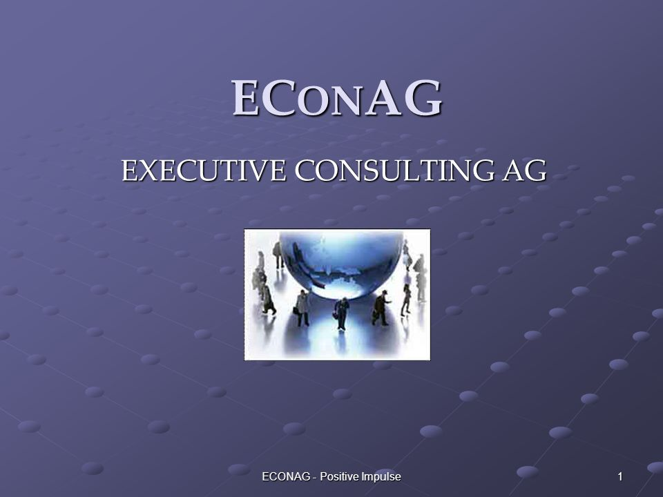 EXECUTIVE CONSULTING AG