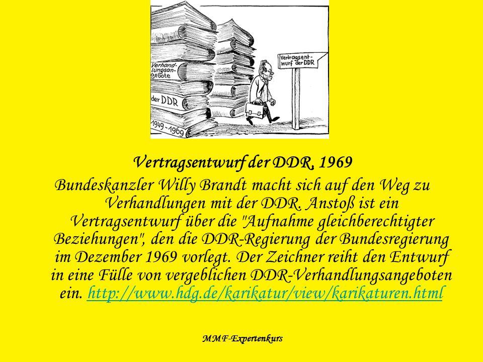 Vertragsentwurf der DDR, 1969