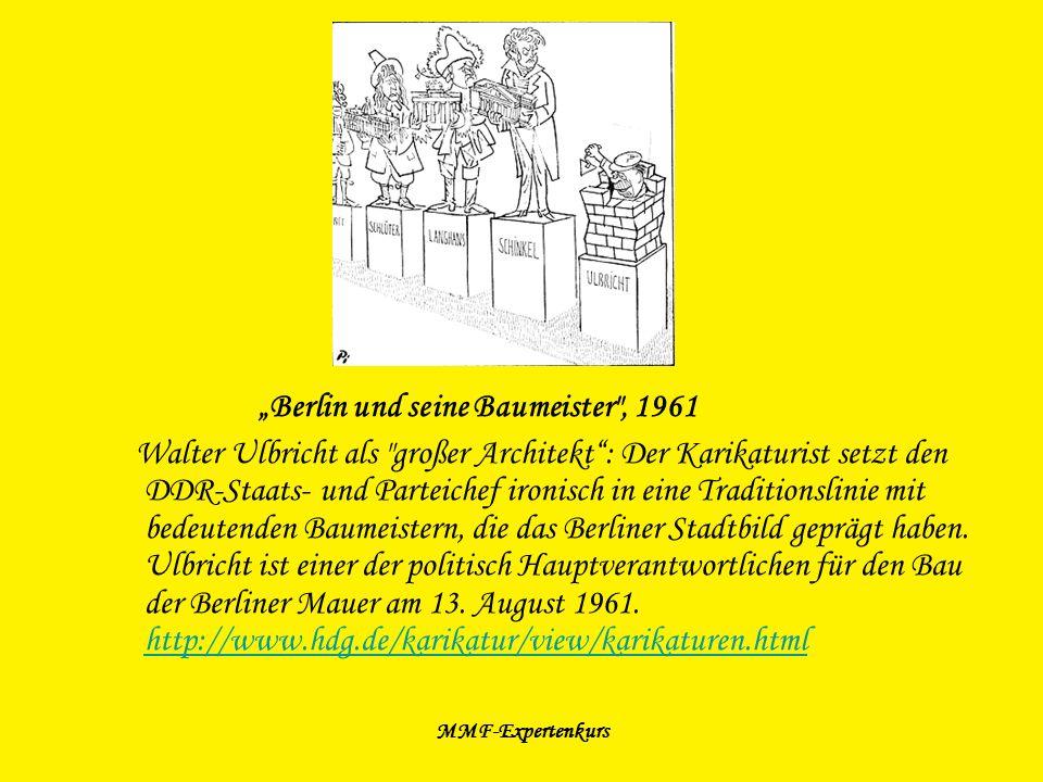 """""""Berlin und seine Baumeister , 1961"""
