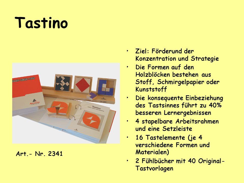Tastino Ziel: Förderund der Konzentration und Strategie