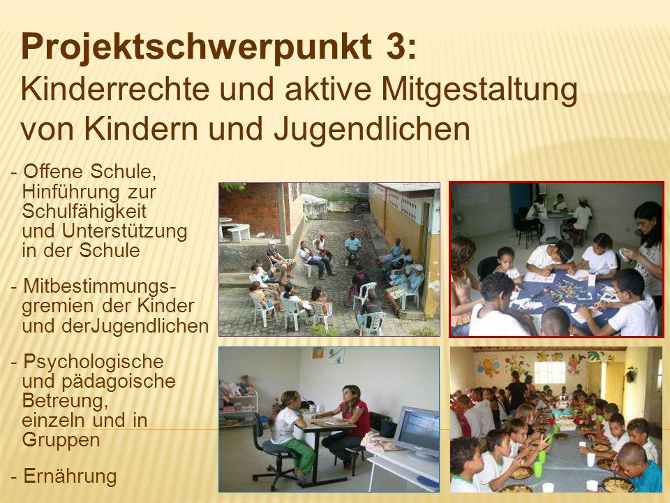 Projektschwerpunkt 3: Kinderrechte und aktive Mitgestaltung von Kindern und Jugendlichen