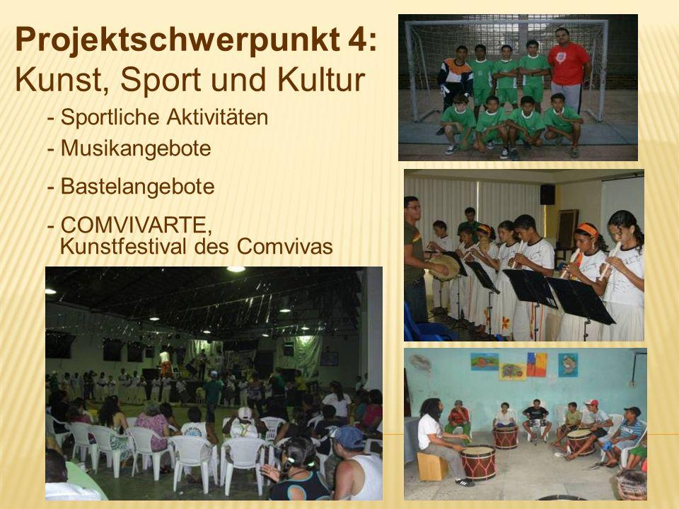 Projektschwerpunkt 4: Kunst, Sport und Kultur