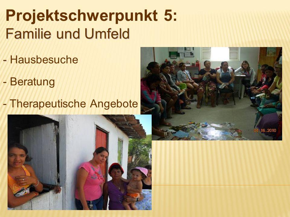 Projektschwerpunkt 5: Familie und Umfeld