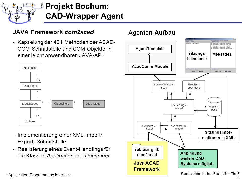 Projekt Bochum: CAD-Wrapper Agent