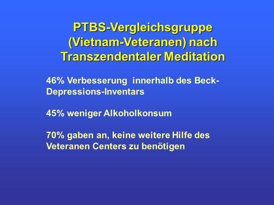 PTBS-Vergleichsgruppe (Vietnam-Veteranen) nach
