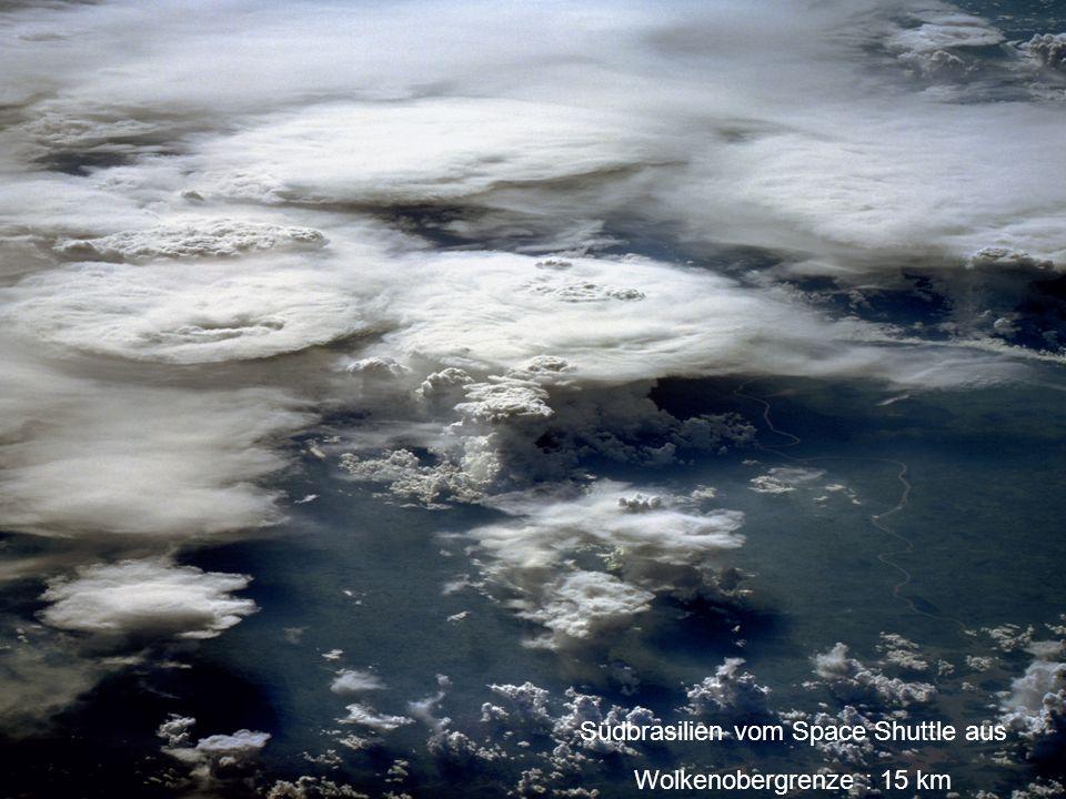 Südbrasilien vom Space Shuttle aus