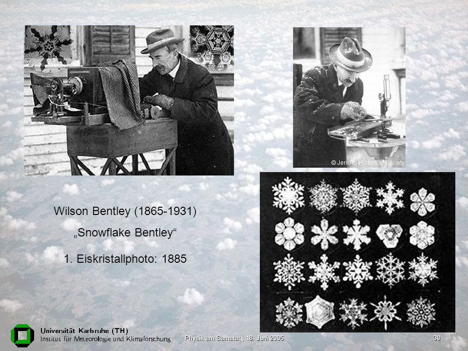 "Wilson Bentley (1865-1931) ""Snowflake Bentley"